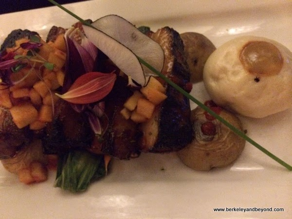 36-hour braised pork belly at Josselin's Tapas Bar & Grill in Poipu, Kauai, Hawaii