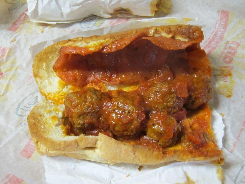 recipe: meatball marinara subway recipe [31]