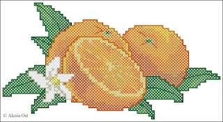 Oranges. fruits and vegetables, kitchen series, cross-stitch, back stitch, cross-stitch scheme, free pattern, x-stitchmagic.blogspot.it, вышивка крестиком, бесплатная схема, punto croce, schemi punto croce gratis, DMC, blocks, symbols