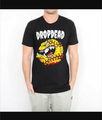 T Shirt DropDead Pac Man