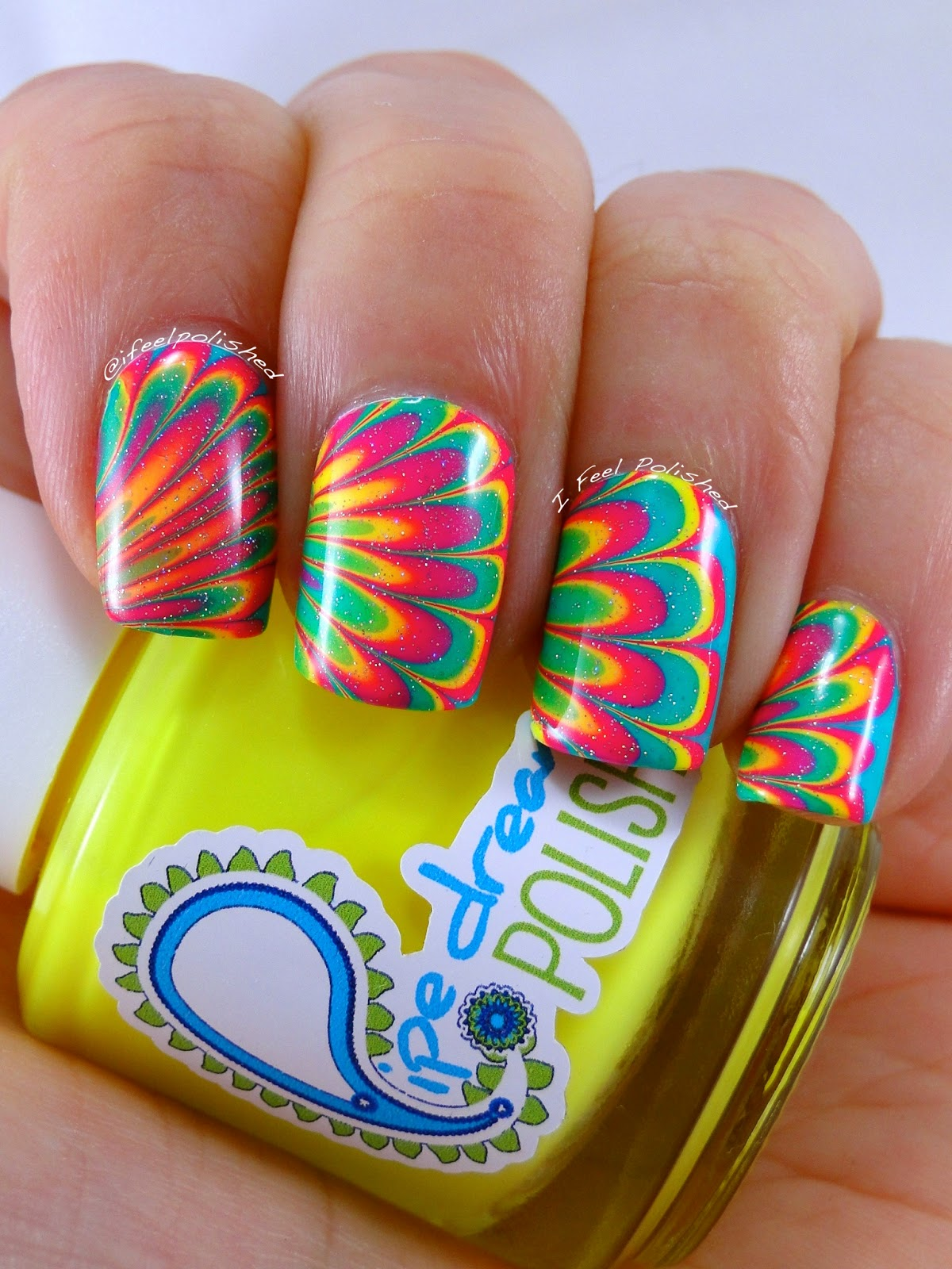 Pipedream Neon Water Marble