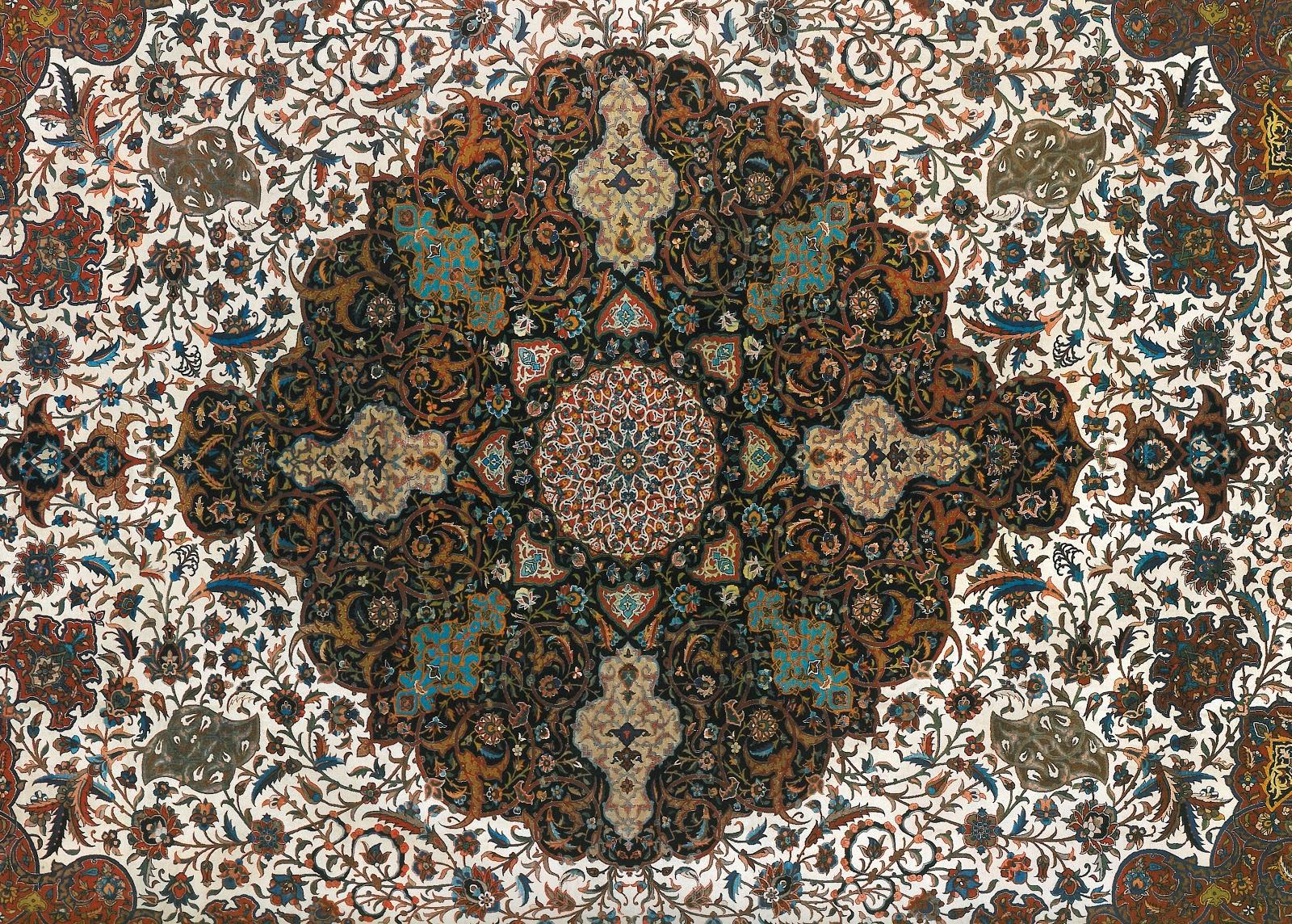 Desayunando con audrey la alfombra persa - Alfombras dibujos geometricos ...