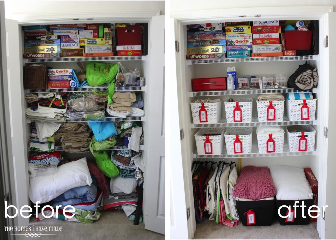 Ideas For Organizing The Linen Closet