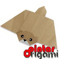 Cara Membuat Origami Tupai