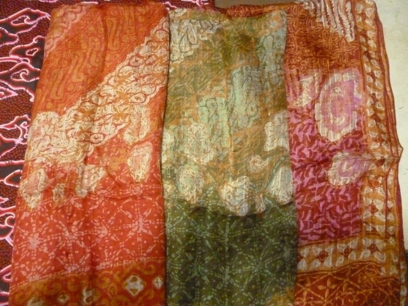 Toko Batik Halus Grosir Bahan Sutera Hem Sutera Selendang dan Syal