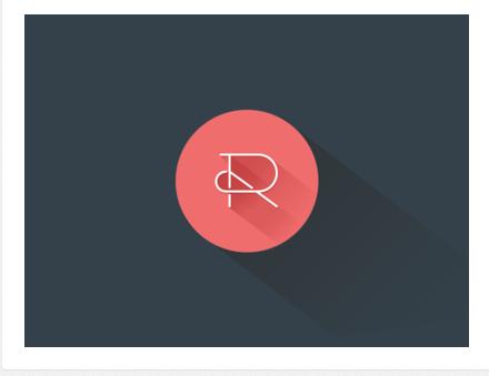 Reflect Architecture Flat Logo Design