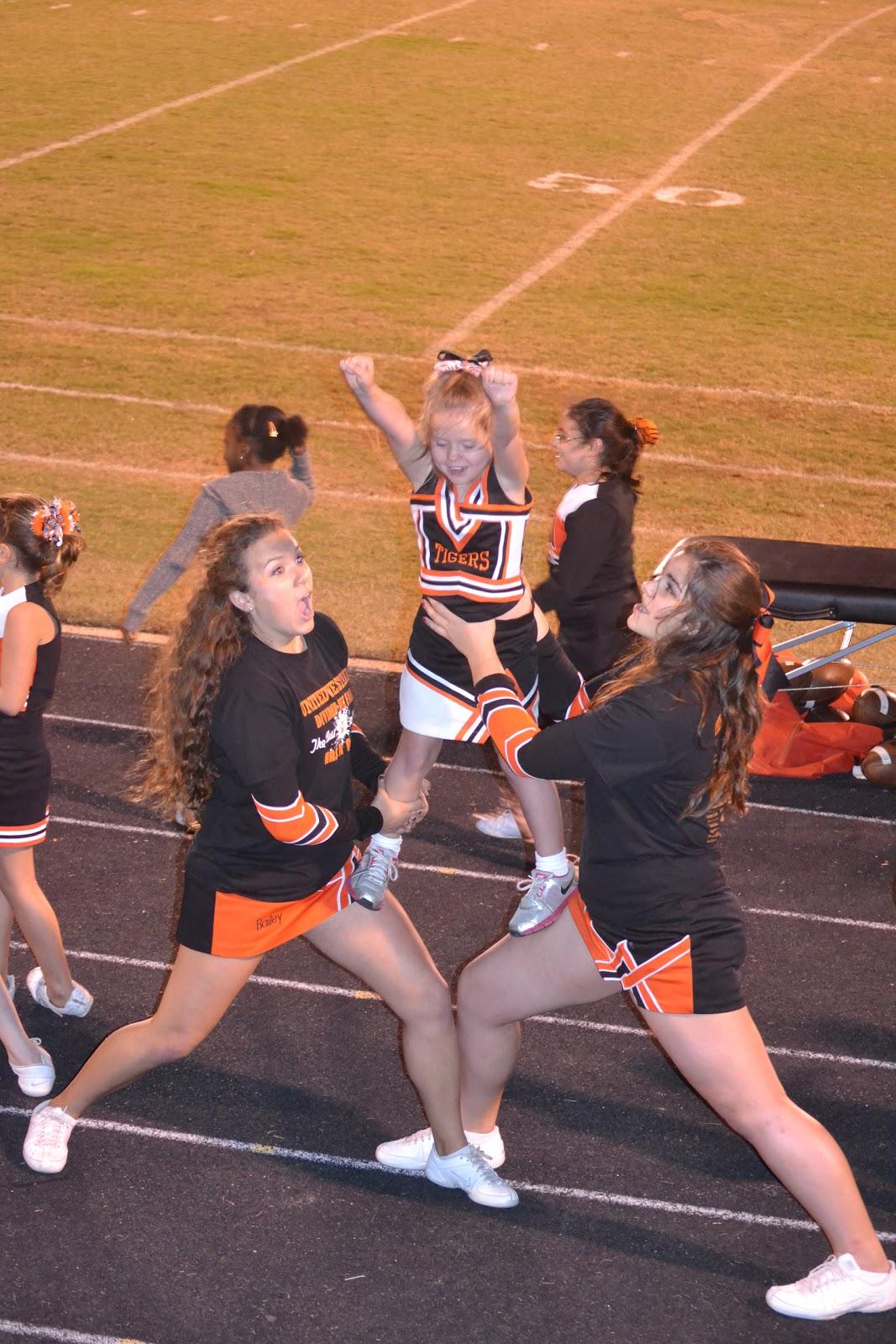 SMITH STORIES: Our mini cheerleader / Playoff bound!