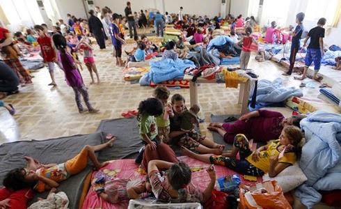 Cristianos se refugian tras persecución del Estado Islámico