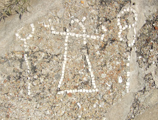 Tanit-Mosaik aus der Zeit nach der Eroberung Selinunts durch die Karthager