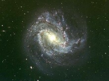 M83 barred spiral galaxy