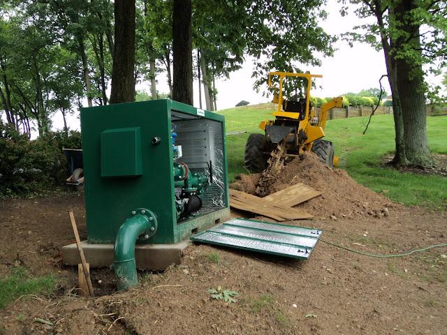 Golf Course Irrigation Pump Stations