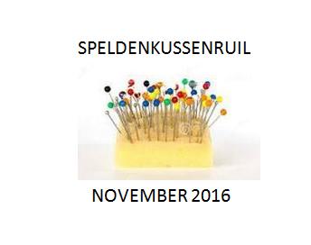 Opgeven voor 25 okt. 12.00u connysquilts@live.nl   Opsturen voor 28 nov.. 10 dec. Finale  op blogs.
