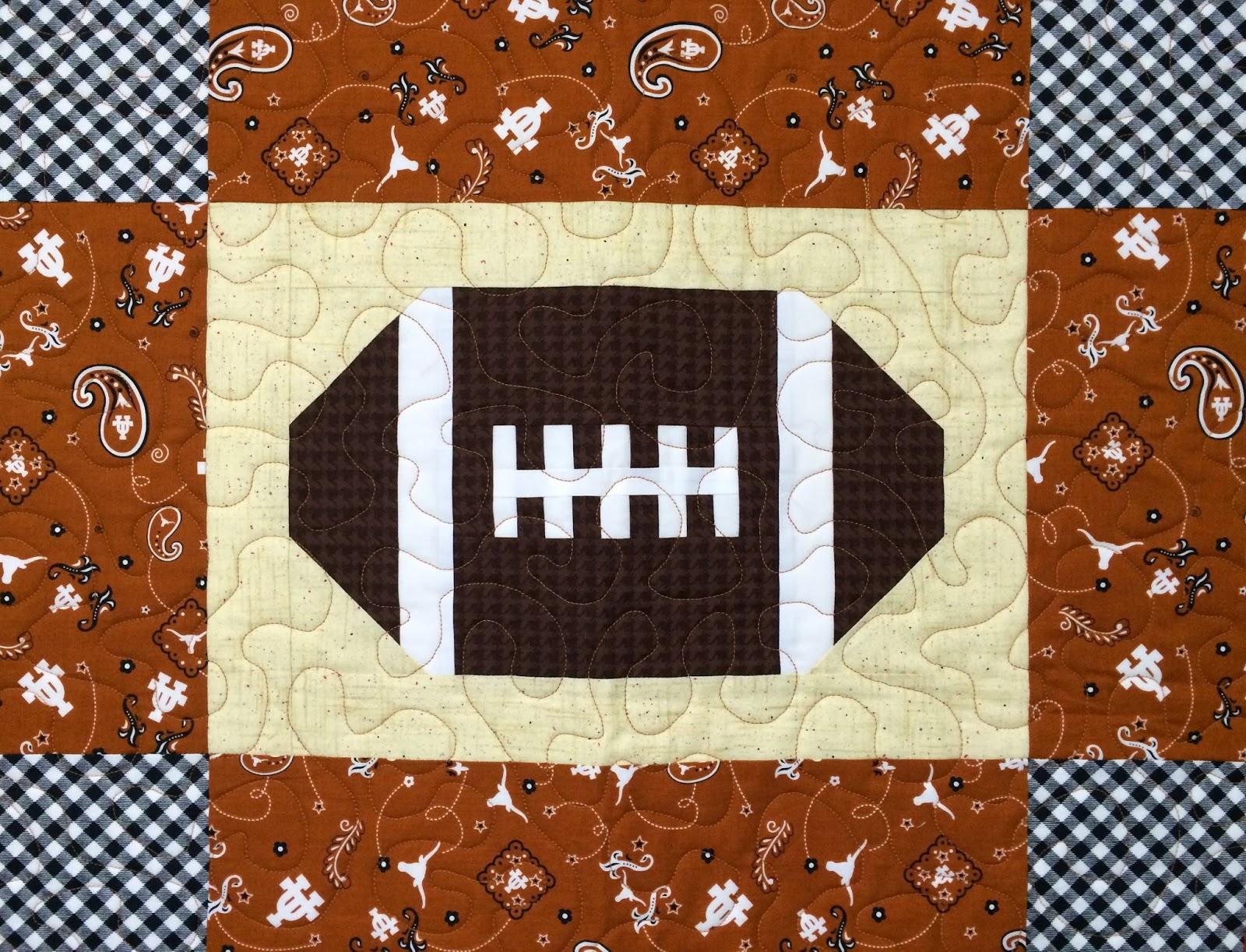 Mette Brown's UT Football Quilt