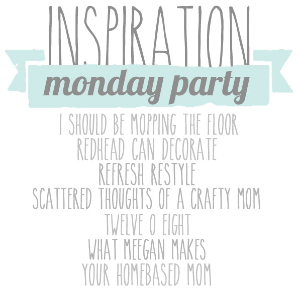 Inspiration Monday Party via twelveOeightblog.com #fall #fallideas #craft #diy #recipes