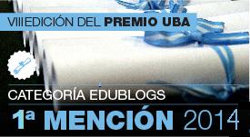 Premio UBA EDUBLOG 2014