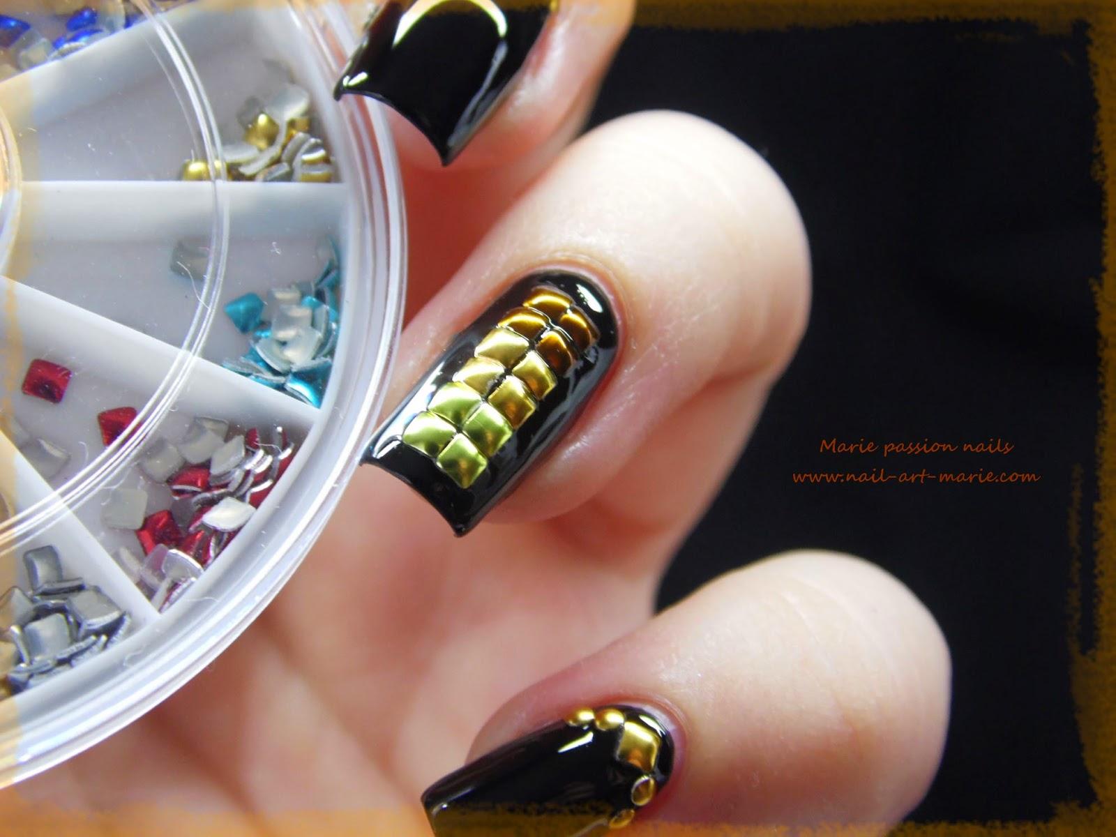nail art studs metallique4