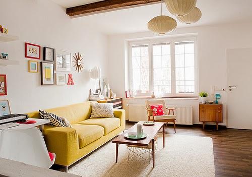 żółte dodatki, brudna żółć, jesienne, kolory, musztardowy, mustard, yellow, interior, design, autumn, na kolorowo,