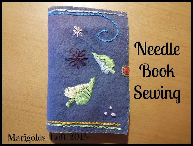 Needle Book DIY