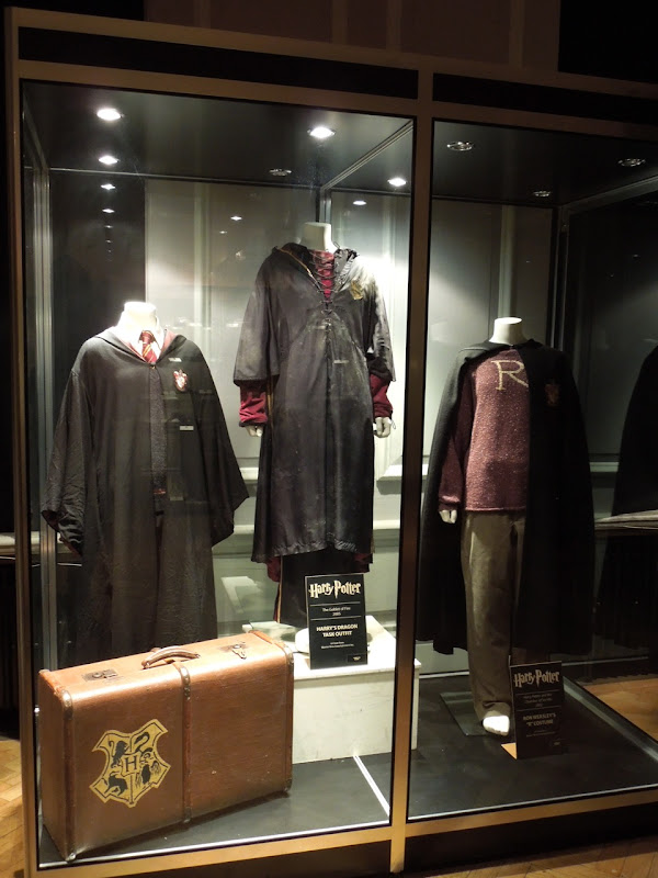 Harry Potter costumes London Film Museum