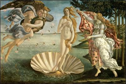 Botticelli - Naissance de Venus