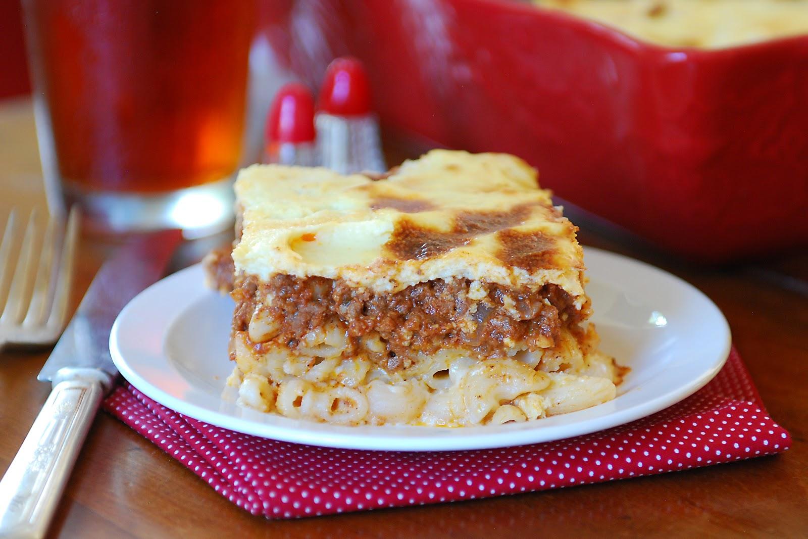 Simply Gourmet: 224. Greek Lasagna (Pastitsio)