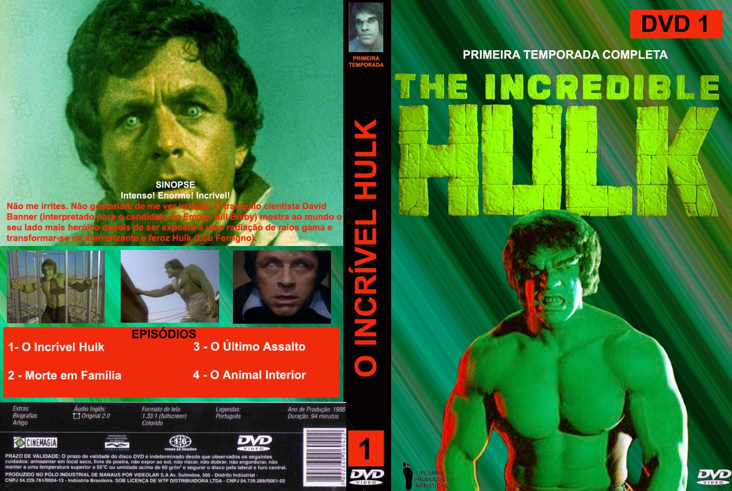 Incrivel Hulck Awesome capas em sÉrie: capas dvd o incrÍvel hulk