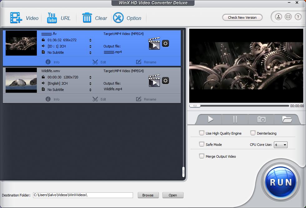 Download Fast MP4 3GP AVI MPG WMV RM MOV FLV Converter