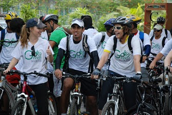 Go Cycling Go Green Volume 1 exciting memories