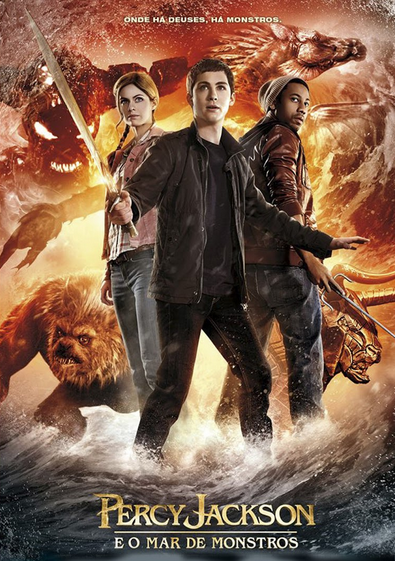 Filme Percy Jackson e o Mar de Monstros Dublado AVI BDRip