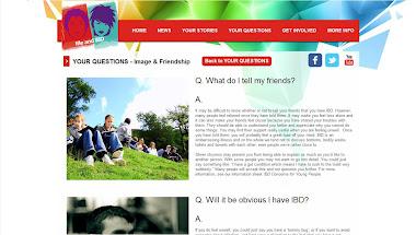 Me and IBD website