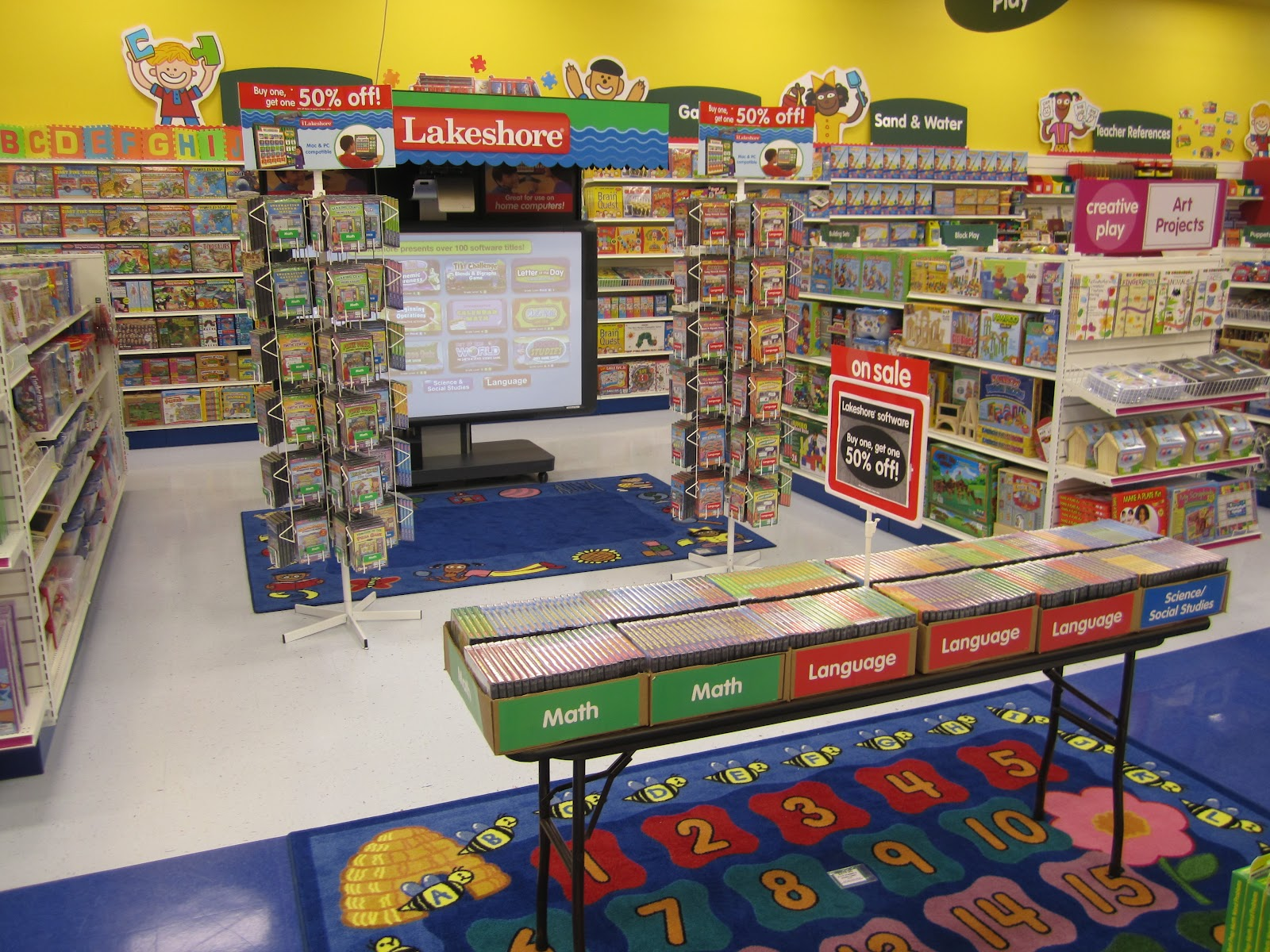 Lakeshore Learning Store creates innovative educational materials that spark young imaginations, instill a sense of wonder and foster a lifelong love of learning.
