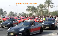 Qatar's Police Fleet of Porsche Cayenne and Panamera