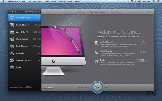 clean my mac free download