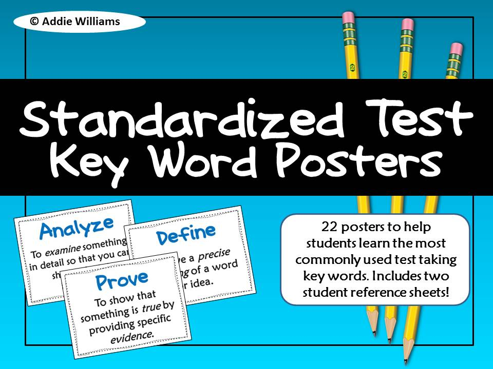 https://www.teacherspayteachers.com/Product/Test-Prep-Standardized-Test-Key-Word-Posters-531458