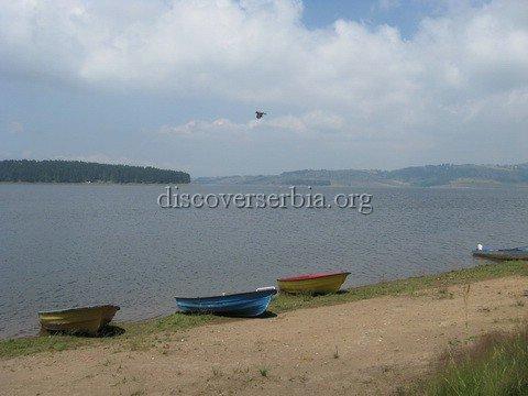 Vlasinsko Jezero Lake