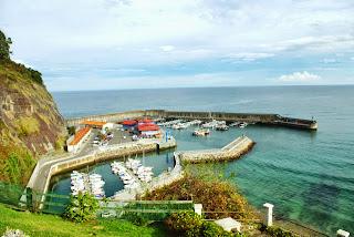Colunga, Lastres, vista del puerto