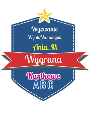 Wygrałam w Kartkowe ABC