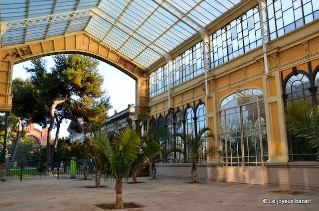 Barcelone -parc de la Ciutadella