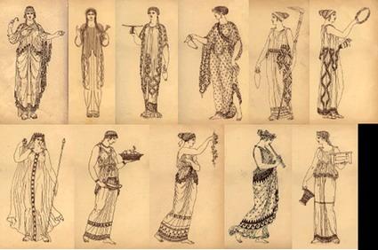 bonjour la moda antigua grecia On vestimenta de grecia