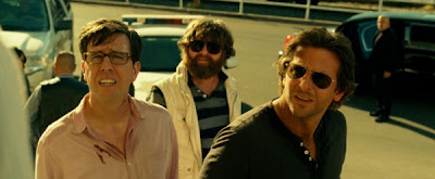 Bradley Cooper, Zach Galifianakis and Ed Helms in The Hangover Part III