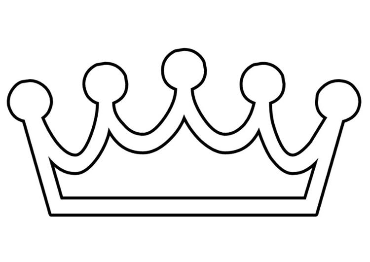 Recursos para Primaria e Infantil: Coronas de princesas para colorear