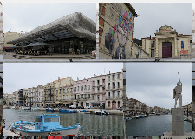 Photocollage from Sète, France