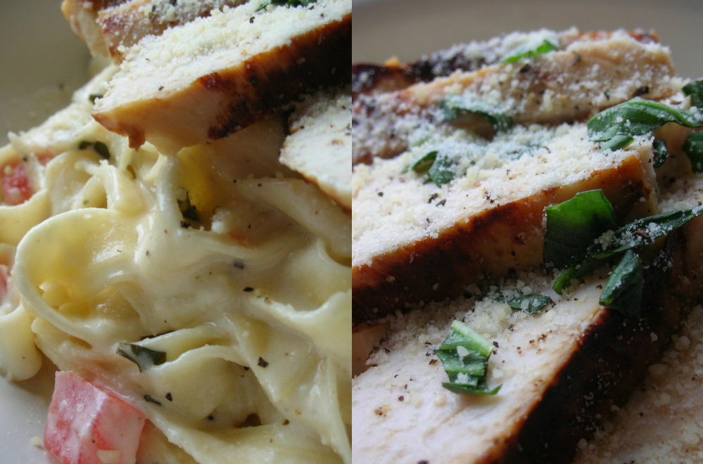 Basil: Grilled Chicken with Lemon Basil Pasta