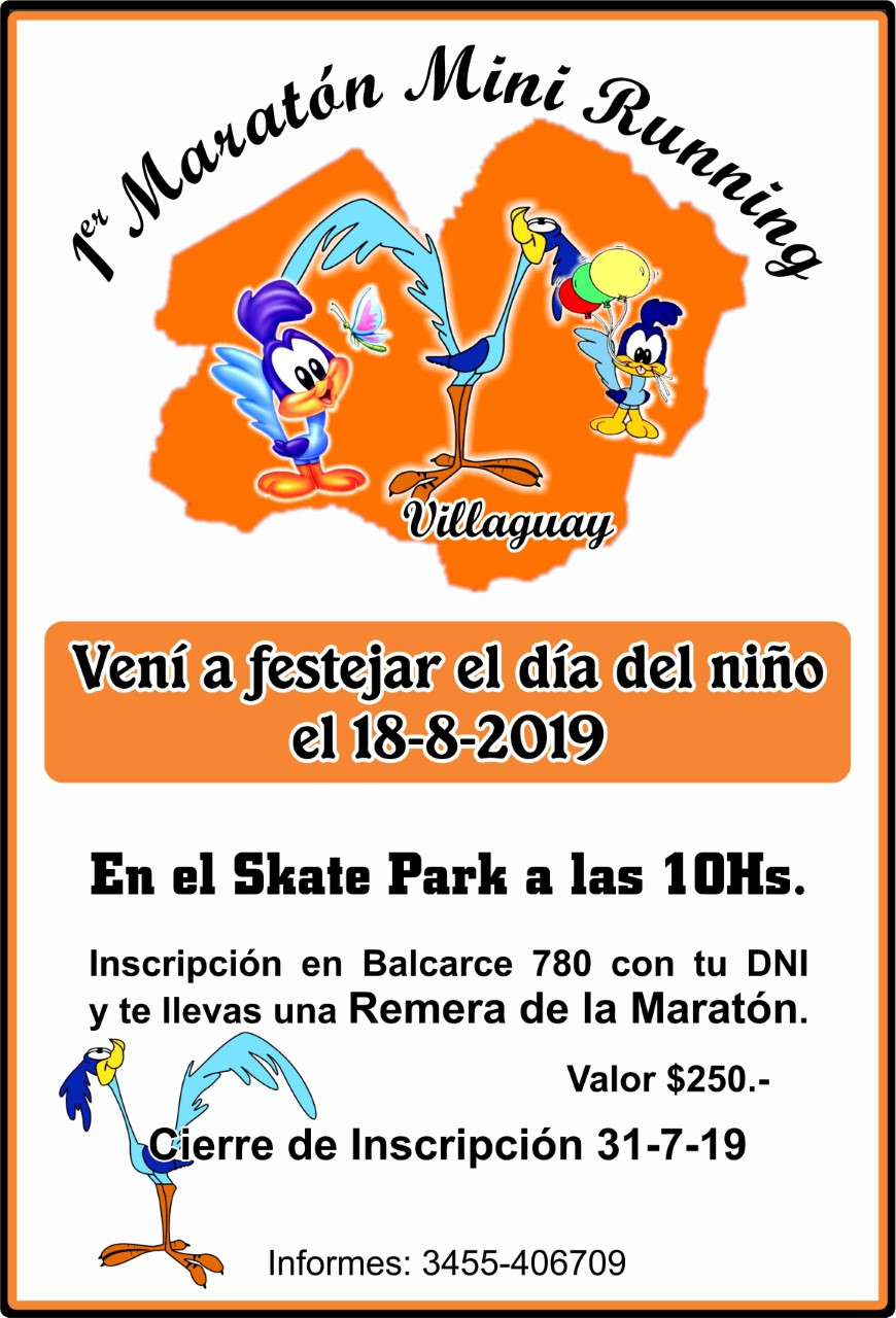 1° Maraton Running infantil Villaguay