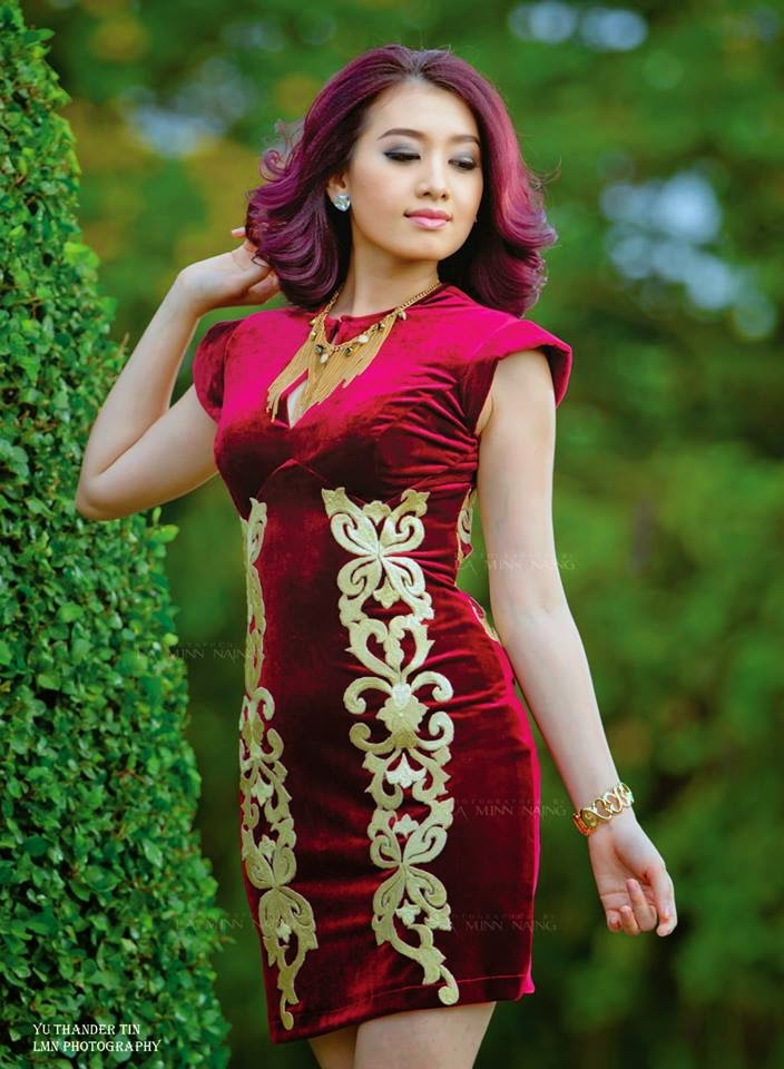 Yu Thandar Tin - Beautiful Myanmar Model
