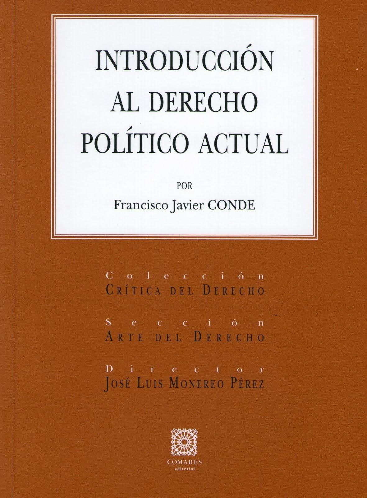 Edición F J Conde, Derecho político