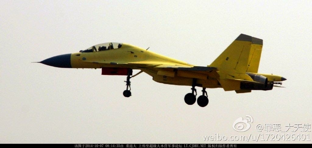 ... day: J-15S twin-seater trainer and pre-production J-15 104 and 105