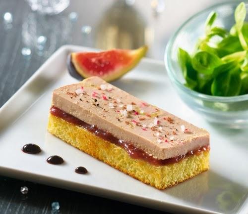 Tostada de foie gras toast et foie gras for La nueva cocina francesa
