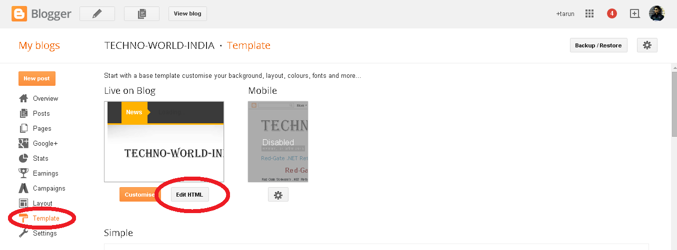 how to use button template