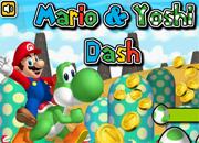 Mario Yoshi Dash
